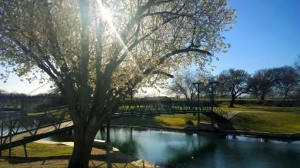 Pedestrian Bridge, Lampasas, TX